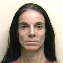 Becky Golly has been charged with four felonies in the Feb. 7 incident. She remained in jail as of Feb. 15. (Utah County Sheriff's Office)