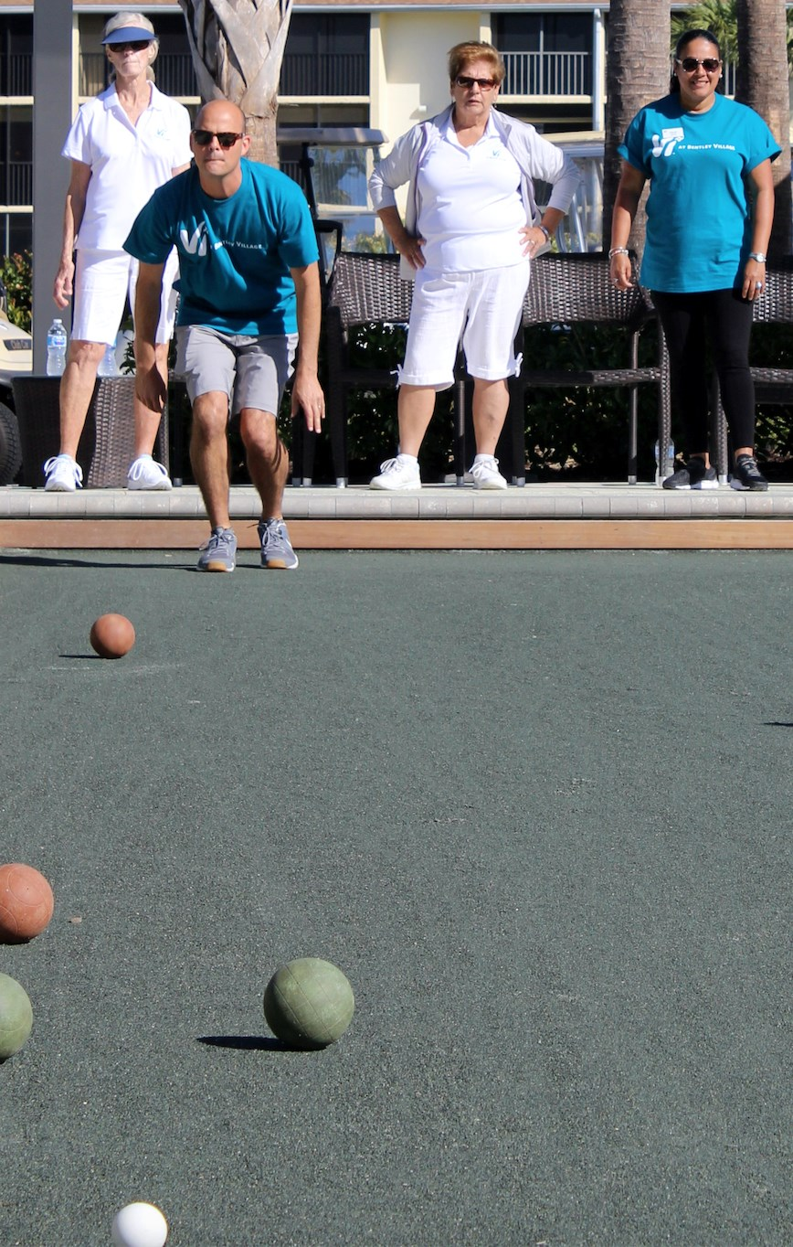 Bocce battle