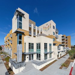 """""""This new development is ...  a first for San Diego and one of only a handful in the nation,"""" said San Diego Mayor Kevin Faulconer."""