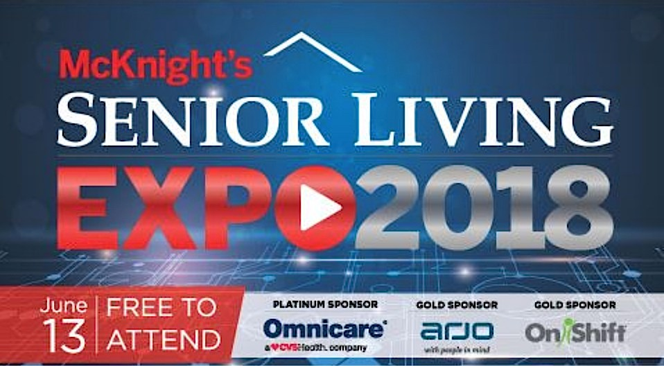 McKnight's Senior Living Online Expo starts this morning!