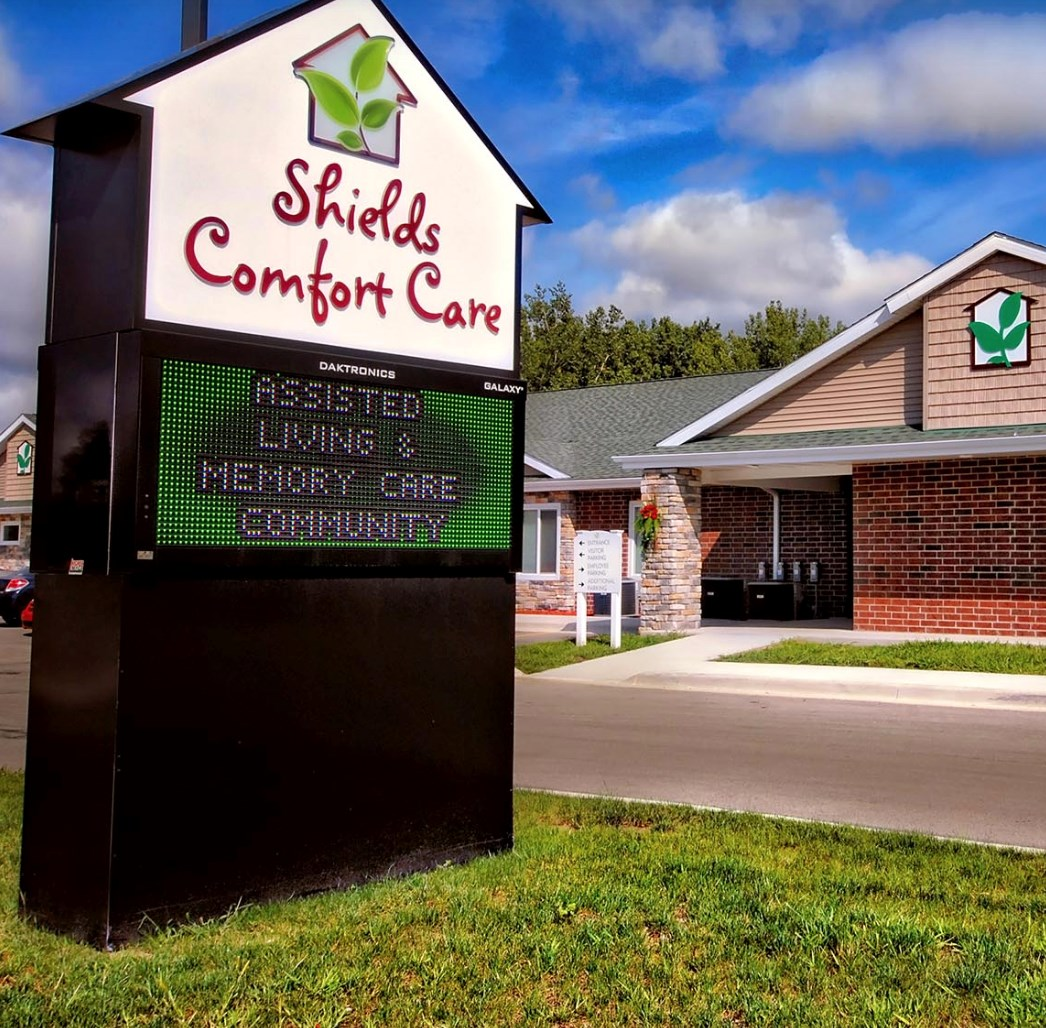 Shields Comfort Care is one of two senior living communities that National Health Investors bought.