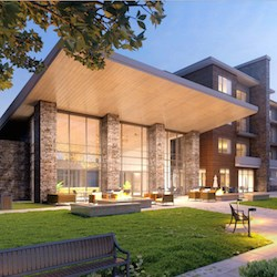 An artist's rendering of The Ridge Pinehurst. The Lakewood, CO, community will be managed by Cappella Living Solutions, a Christian Living Communities division.