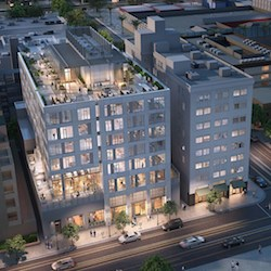 810 Pine Ave. won the Grand Award in the Best Senior Housing Community — On the Boards. (Artist's rendering courtesy of KTGY Architecture + Planning)