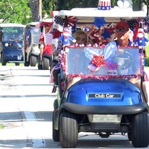 Patriotic parade