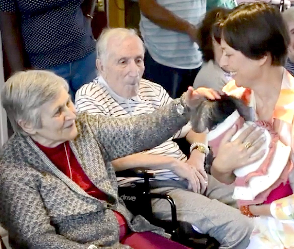 The Chelsea at Fanwood in Fanwood, NJ., held a dog show as part of its National Assisted Living Week observance.