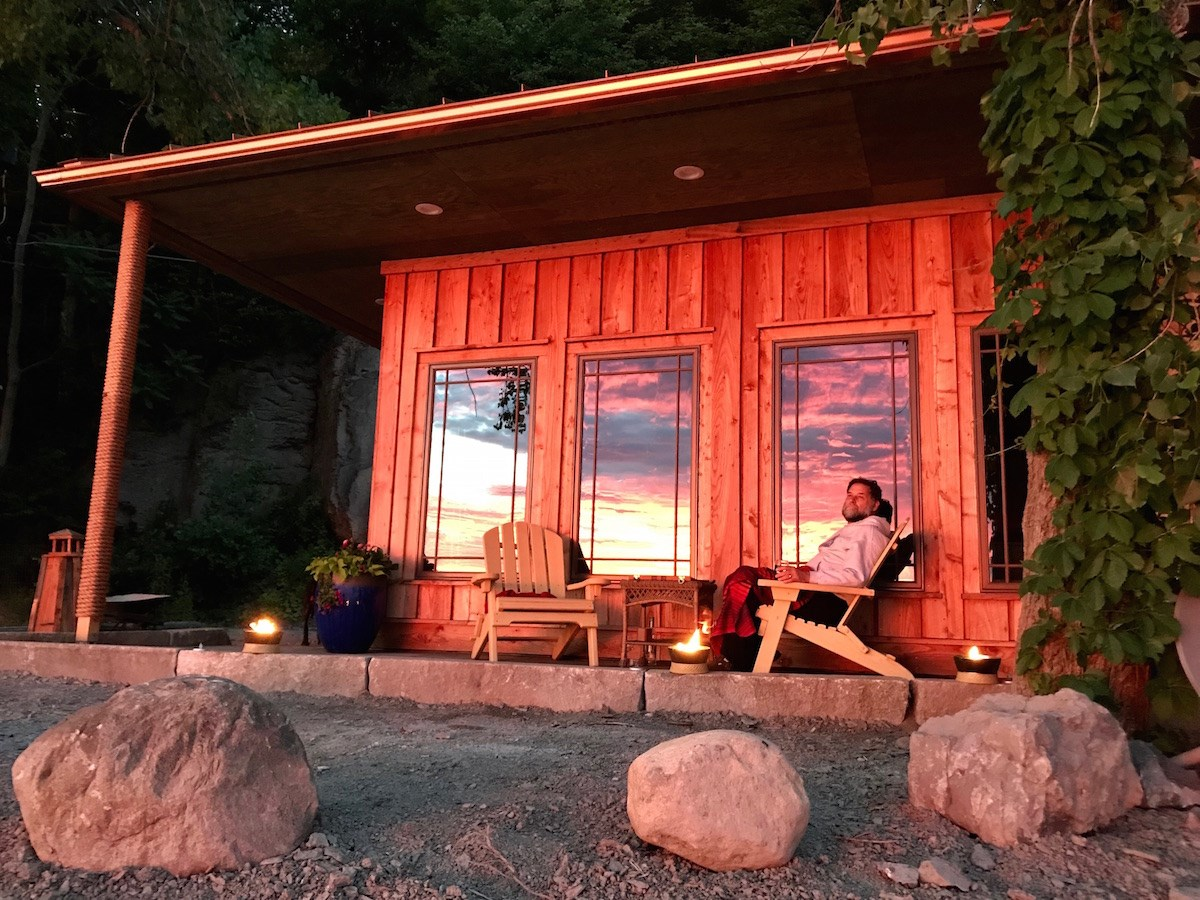 Dr. Bill Thomas' tiny house prototype now available for rent