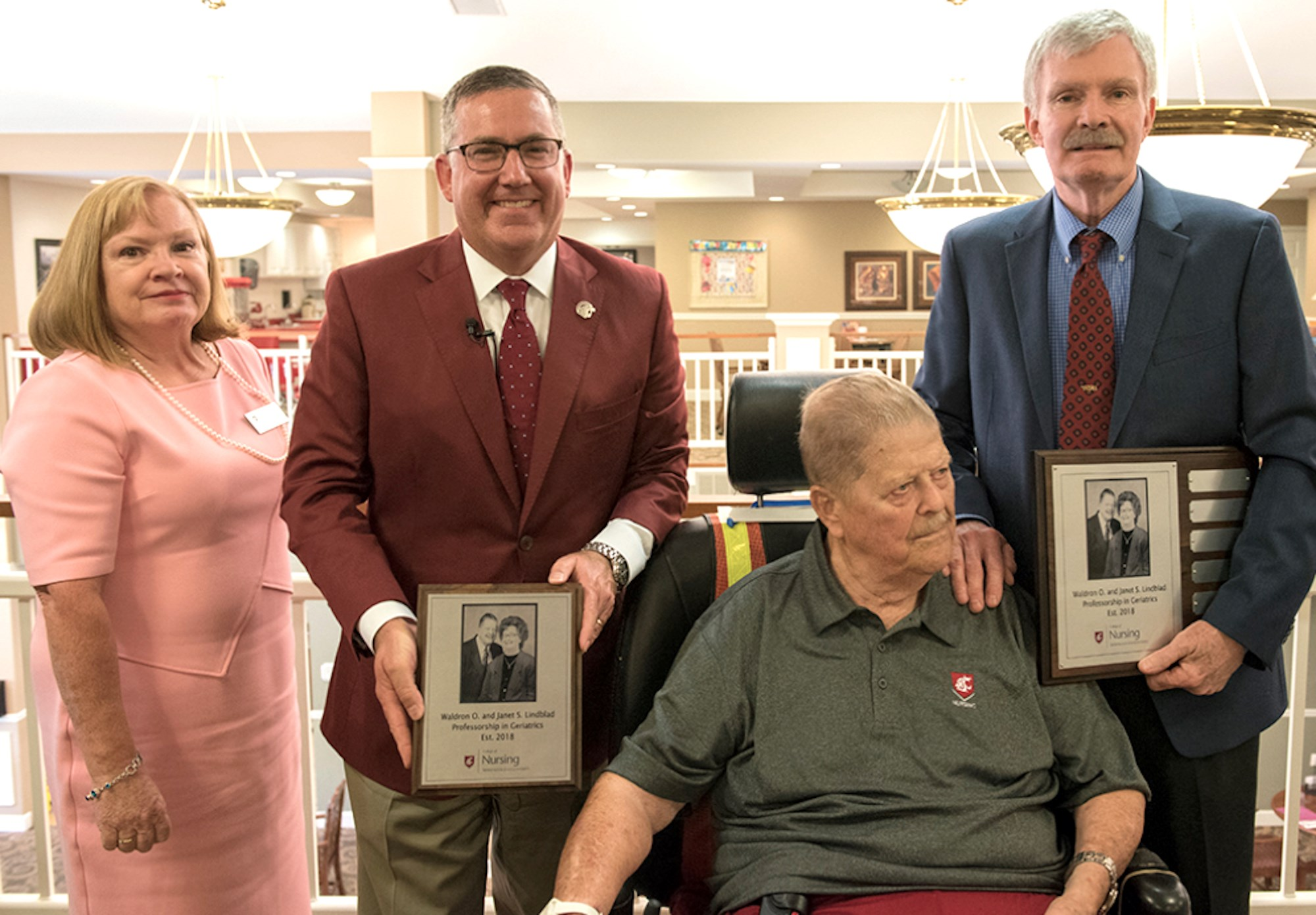 92-year-old vet donates $1M to help further nursing home care